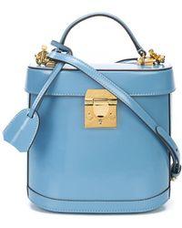 Mark Cross - Blue Benchley Crossbody Bag - Lyst