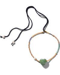 Lizzie Fortunato - Gemini Necklace In Jetset - Lyst