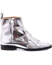 Clergerie - Yousc Leather Ankle Boots - Lyst
