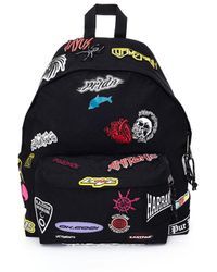 Vetements - Black X Eastpak Sticker Patch Backpack Bag - Lyst