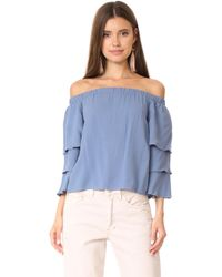 Ella Moss - Stella Off The Shoulder Blouse - Lyst