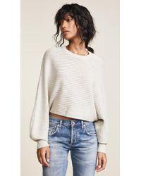 Line & Dot - Iris Cropped Sweater - Lyst