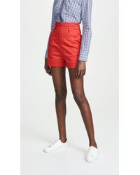 Stella Jean - Grid Shorts - Lyst