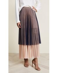 Loyd/Ford | Pleated Maxi Tulle Skirt | Lyst