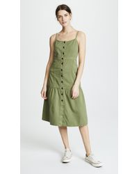 Madewell - Bayview Tiered Midi Dress - Lyst