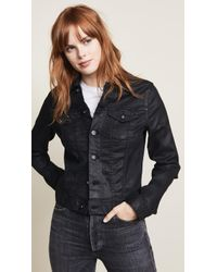 AG Jeans - The Coated Robyn Jacket - Lyst