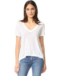 Free People - Pearls Tee - Lyst