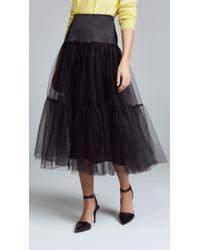 Cinq À Sept   Avery Tulle Skirt   Lyst