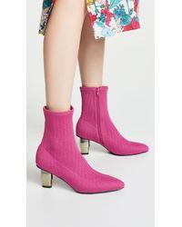 Jaggar - Knit Sock Booties - Lyst