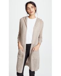 White + Warren - Featherweight Cashmere Cardigan - Lyst