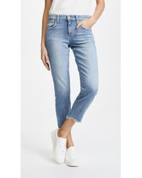 Joe's Jeans - Smith Mid Rise Straight Ankle Jeans - Lyst
