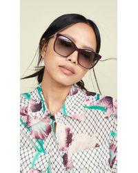Fendi - Classic Square Sunglasses - Lyst