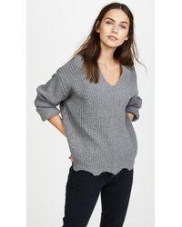 Moon River   Raw Edge Sweater   Lyst