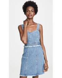 7 For All Mankind Fray Dress - Blue