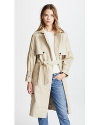 Joie | Alwena Trench Coat | Lyst