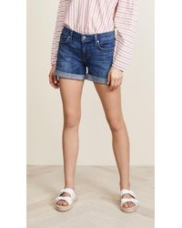 7 For All Mankind - Mid Roll Shorts - Lyst