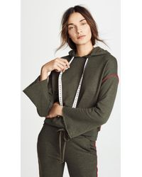 Sundry - Hoodie With Piping - Lyst