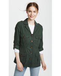 Cupcakes And Cashmere - Brannen Army Jacket - Lyst