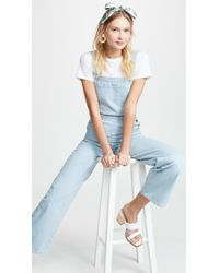 M.i.h Jeans Paradise Dungaree Overalls - Blue