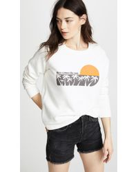 Sea - Here Comes The Sun Sweatshirt - Lyst