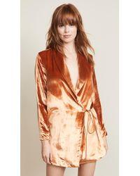 Michelle Mason - Wrap Dress Jacket - Lyst