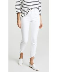 Joe's Jeans - Charlie High Rise Skinny Ankle With Tulip Hem - Lyst