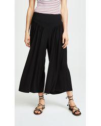 BB Dakota - Cropped Wide Leg Pants - Lyst