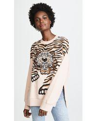 KENZO - Claw Tiger Sweatshirt - Lyst