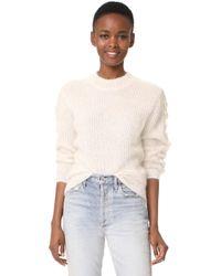 Baldwin Denim - Olivia Mohair Sweater - Lyst