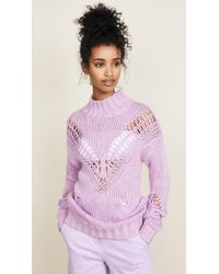 Glamorous - Lilac Sweater - Lyst