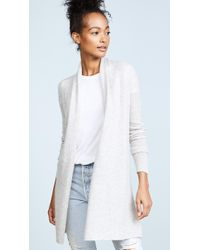 White + Warren - Essential Trapeze Robe - Lyst