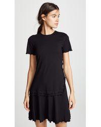 10 Crosby Derek Lam - Short Sleeve T-shirt Dress - Lyst