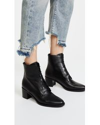 Frēda Salvador - The Ace Lace Up Booties - Lyst