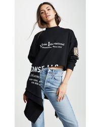 Monse - International Rip Sweatshirt - Lyst