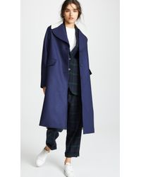 Paul Smith - Long Collared Coat - Lyst