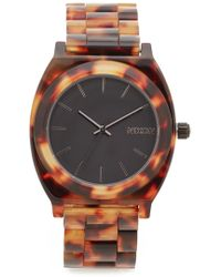Nixon - Time Teller Acetate Watch - Lyst
