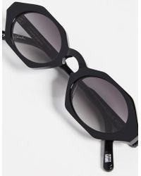 9409f688da Chimi Clear Pink Sunglasses in Pink - Lyst