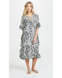 See By Chloé - Printed Dress - Lyst