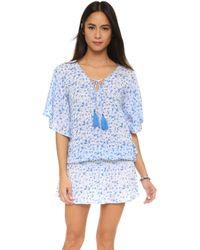 Tiare Hawaii - Jimbaran Short Dress - Lyst