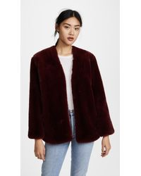 Moon River - Faux Fur Coat - Lyst
