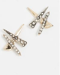 Alexis Bittar - Criss-cross Shard Earrings - Lyst