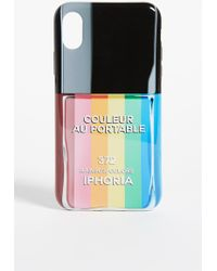 Iphoria - Nail Polish Rainbow Iphone X Case - Lyst