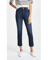 AMO - Audrey High Rise Cigarette Jeans - Lyst