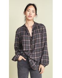 Free People - Northern Bound Button Down - Lyst
