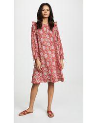 Lyst - Antik Batik Ida Mini Dress in Natural 4fb48ad7c