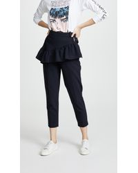 3.1 Phillip Lim - Ruffled Apron Trousers - Lyst