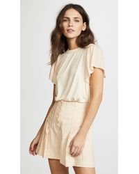 Ella Moss - Bella Short Sleeve Top - Lyst
