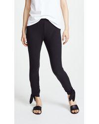 BB Dakota - Tie Bottom Trousers - Lyst