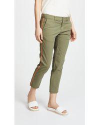 Nili Lotan - East Hampton Pants With Tape - Lyst