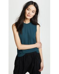 James Perse - Easy Muscle Tank - Lyst